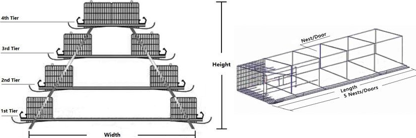 layer baby chick cages