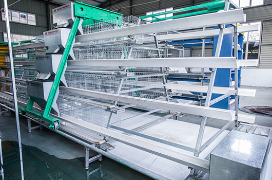 A type of laying birds battery cage.