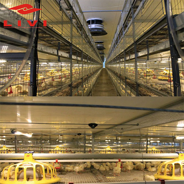 Broiler breeding cages