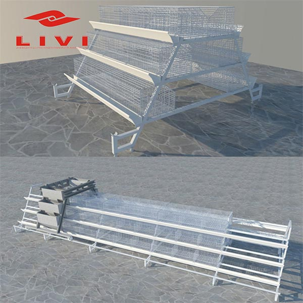 A-type layer battery cages